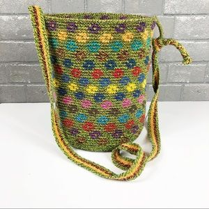 Gorgeous weave basket style Crossbody bag no Brand